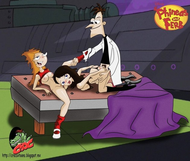 Phineas And Ferb Naked